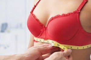 Определение размера бюста