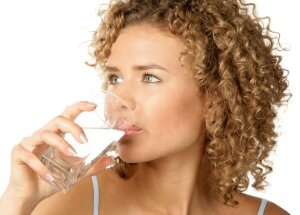 Прием воды до электролиполиза