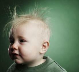 Выпадение волос у маленького ребенка