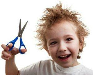 Укрепление волос у детей