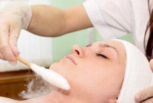 Процедура криомассажа